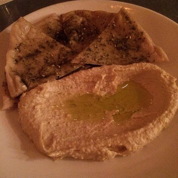 Hummus And Pita @ Terzo