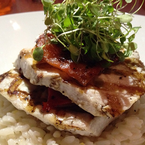 Grilled Swordfish - Bistango, Irvine, CA