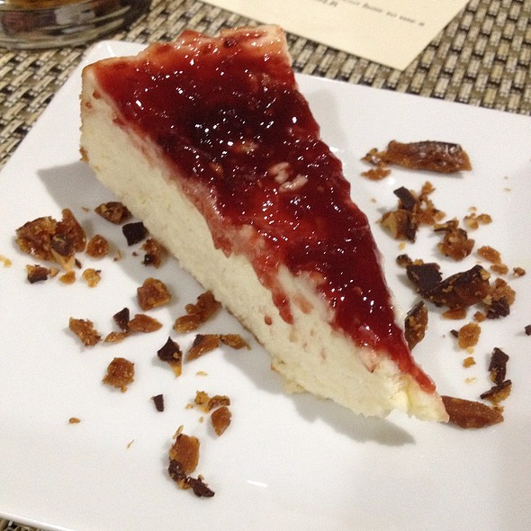 Ricotta Cheesecake With Red Fruit Jam @ I Forgot It's Wednesday