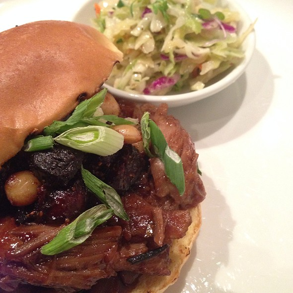 Pulled Duck Confit Sandwich @ One Flew South