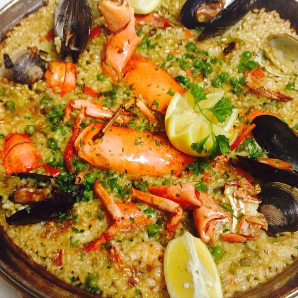 Lobster Paella - La Gamba, Coconut Grove, FL