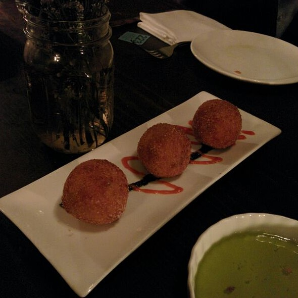 Fried Mac and Cheese @ Aroma Kitchen and Wine Bar