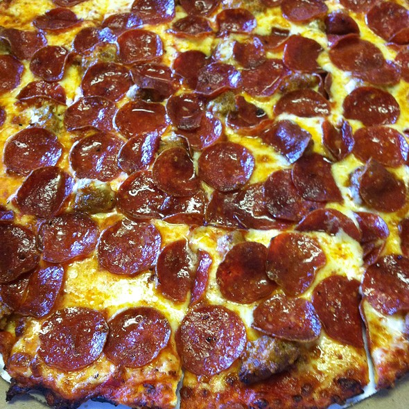 Sausage & Pepperoni Pizza @ BobbyG's Chicago Eatery