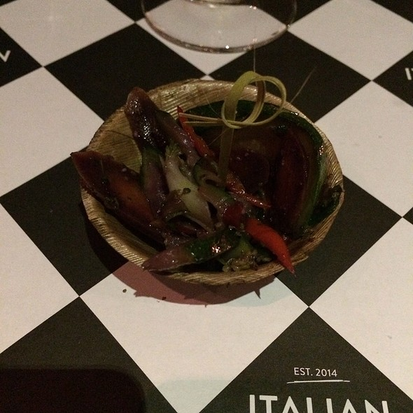 Grilled Vegetables @ Italien By Lantz