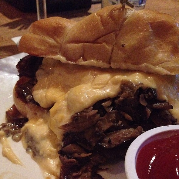 Steak Sandwich - American Tap Room - Rockville, Rockville