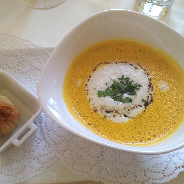 Pumpkin, Carrot & Ginger Soup @ Landgasthof zur Nocken Toni