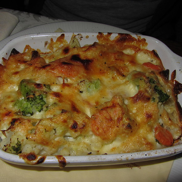 Vegetable Lasagna @ KONOBA / PIZZERIA DALMATINO