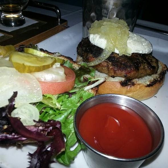 Lamb Burger @ The Scottish Arms