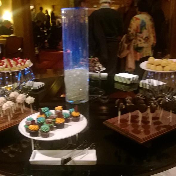 dessert buffet - Bristol Restaurant and Bar - Four Seasons Hotel Boston, Boston, MA