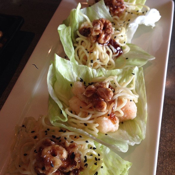 Rock Shrimp Lettuce Wraps @ Ajisai Japanese Grill and Sushi