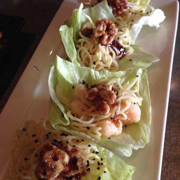 Rock Shrimp Lettuce Wraps @ Ajisai Japanese Grill and Sushi