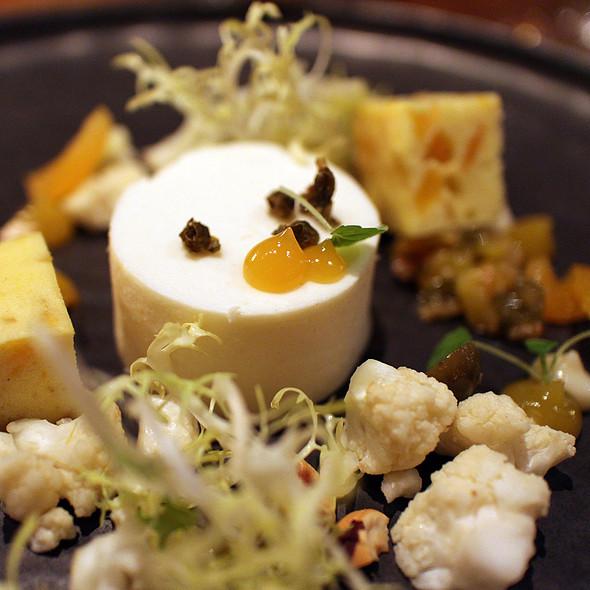 Cauliflower Flan @ Restaurant VOLT