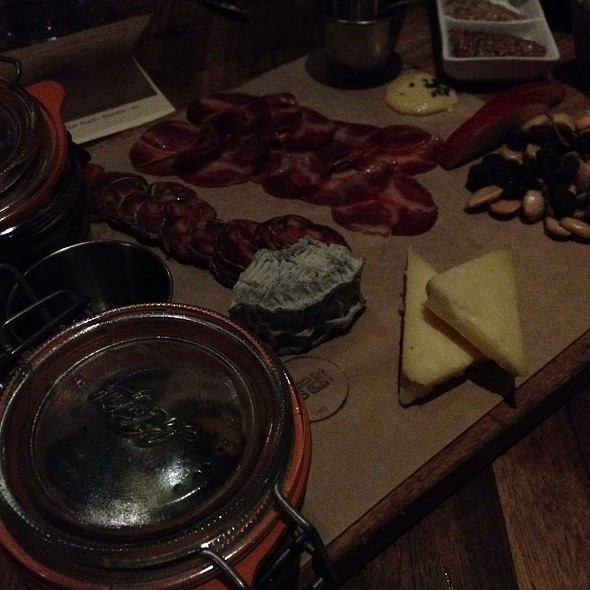 Assorted Meats And Cheeses @ Manhattan Beach Post