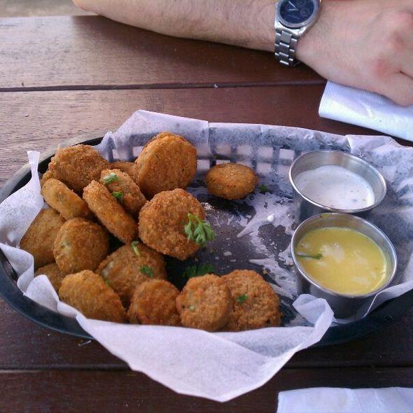 Fried Pickles @ Cedar Creek Cafe Bar & Grill