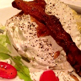 Wedge Salad - Fleming's Steakhouse - Coral Gables, Coral Gables, FL