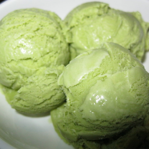 Green Tea Ice Cream @ Kyoto