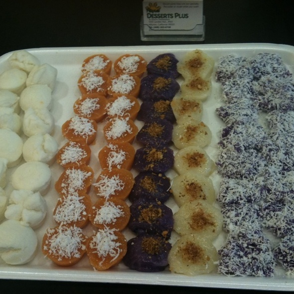 Filipino Dessert Tray