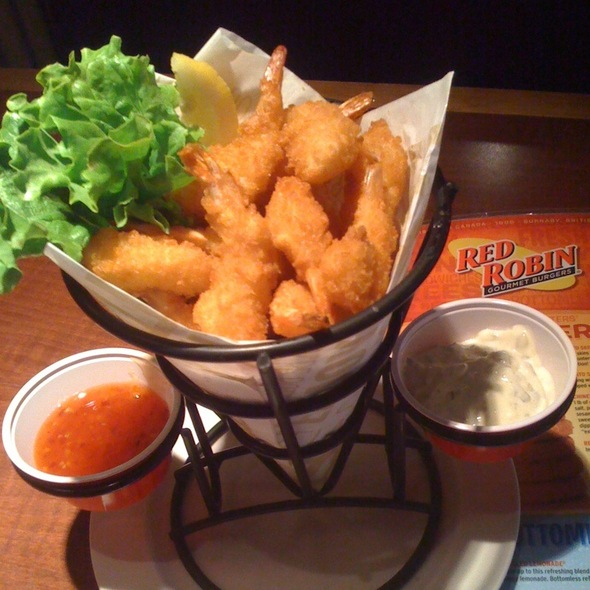 Popcorn shrimp @ Red Robin Restaurants Of Canada Ltd