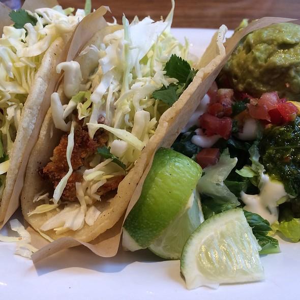 Fish Taco Plate @ Veggie Grill