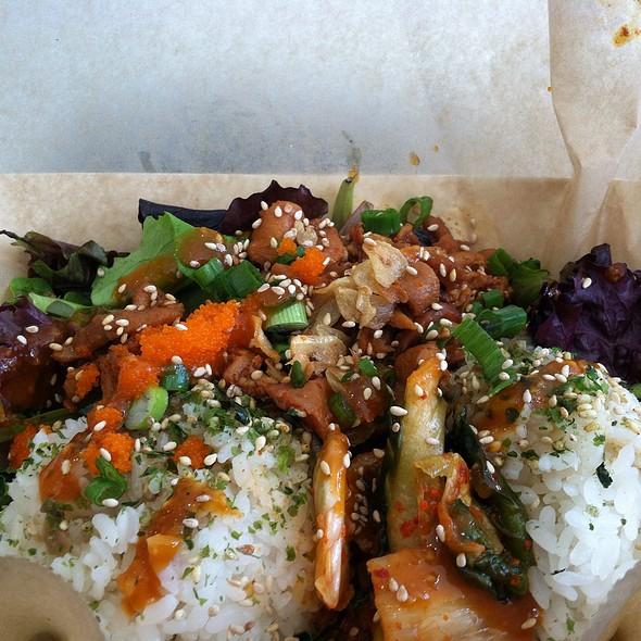 Koja Kitchen f The Grid Menu Foodspotting