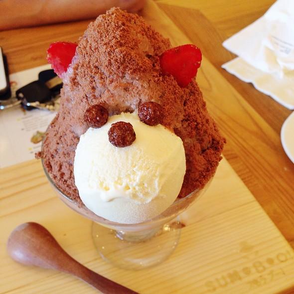 Chocolate Kakigori @ Sumoboo