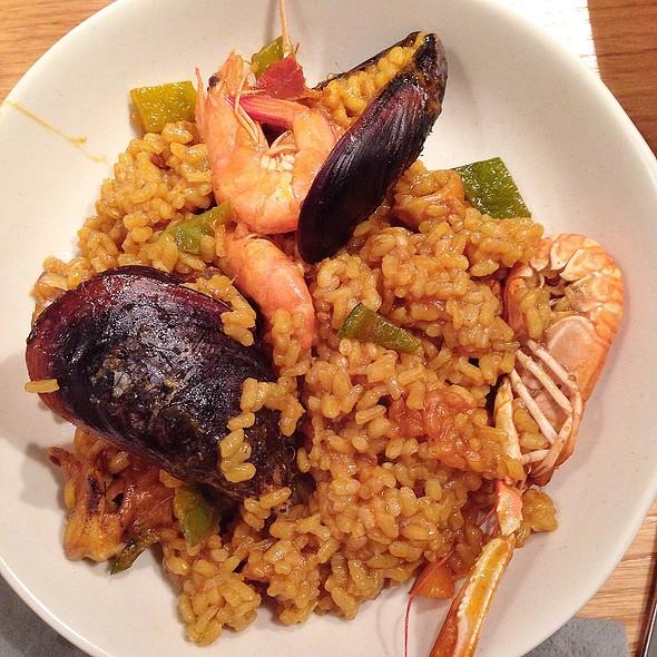 Seafood Paella @ Marina Moncho's