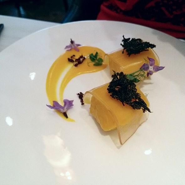 Cod, White Miso, Sauternes Jelly, Seaweed