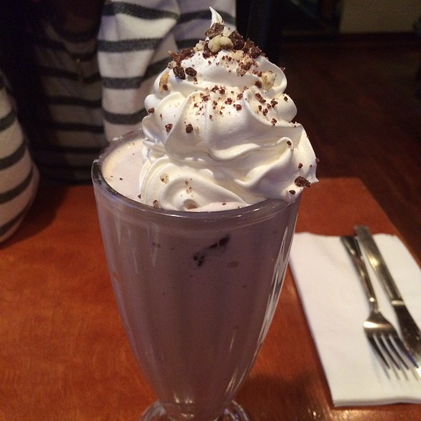 Berger Cookie Milkshake