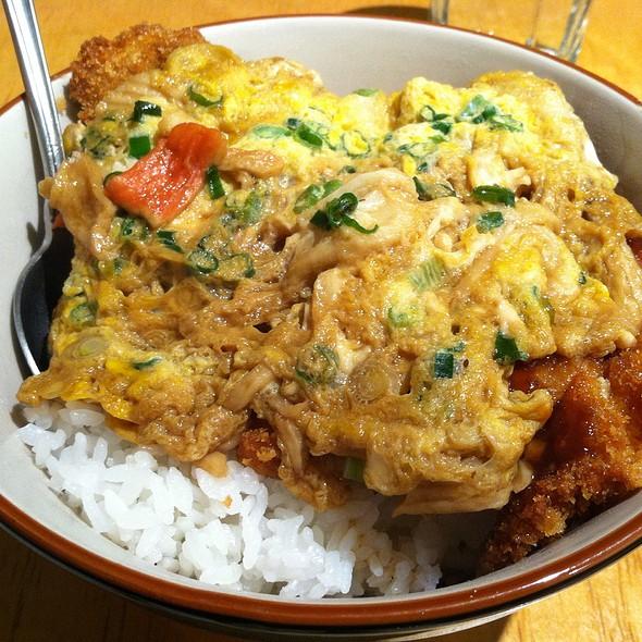 Chicken Katsu Don @ Generic Sushi Restaurant