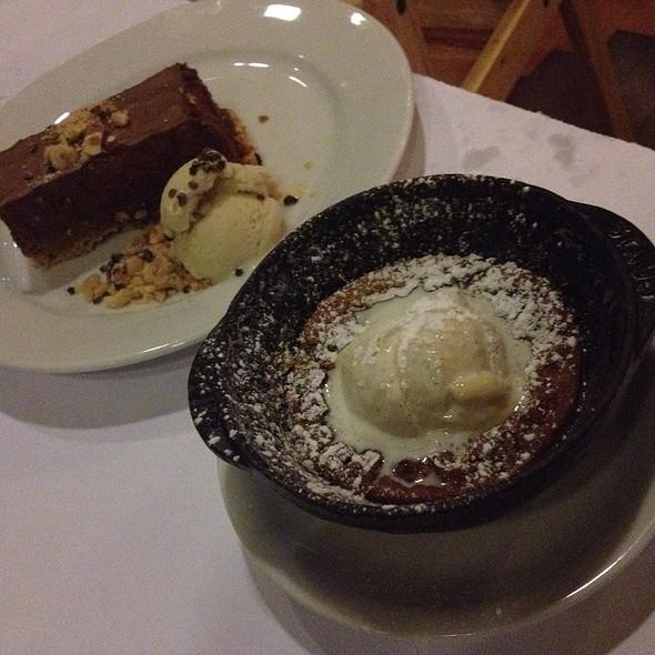 Chocolate Napoleon And Pumpkin Clafoutis @ Lüke San Antonio