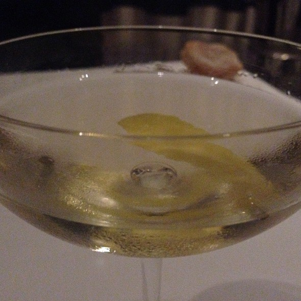 The Worlds Greatest Martini - Ame, San Francisco, CA
