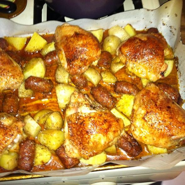 Spanish Chicken @ GGG Secret Lair