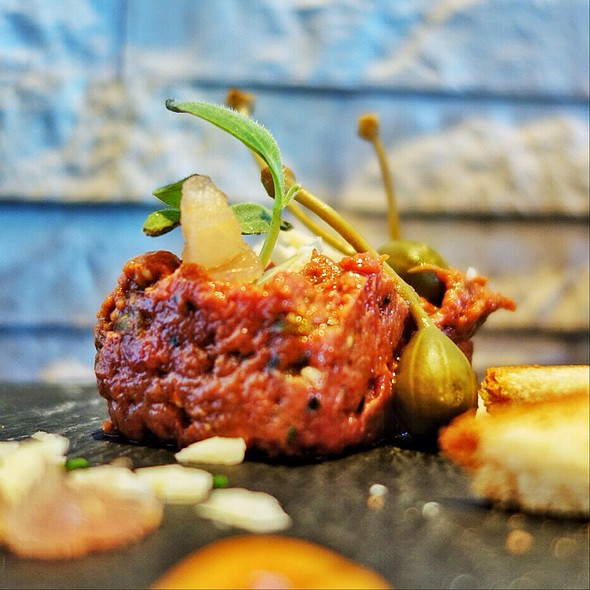 Beef Tartar @ Swiss First - Hon Circle Lounge