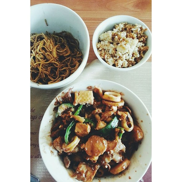 Mongolian Bowl @ bob's restaurant