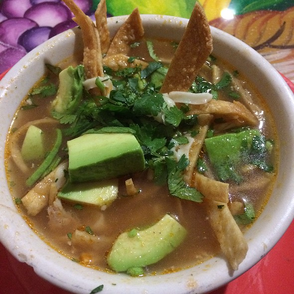 Tortilla Soup @ Taqueria La Hacienda