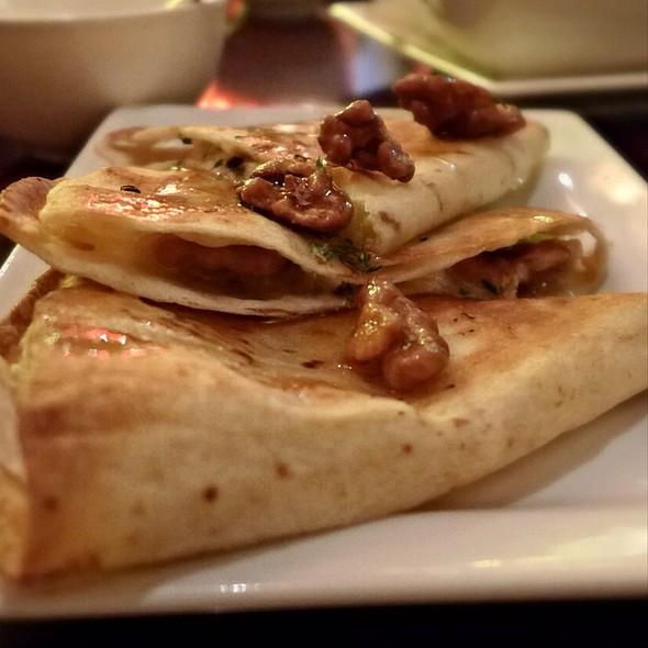 Apple, Walnut & Brie Quesadilla - Restaurant Epic, Honolulu, HI