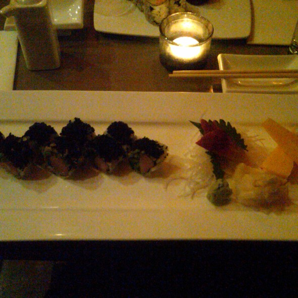 Jalapeno Sushi with Black Caviar @ Loop