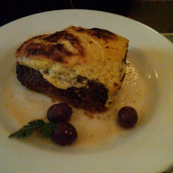 Vegetable Mousaka @ Snack