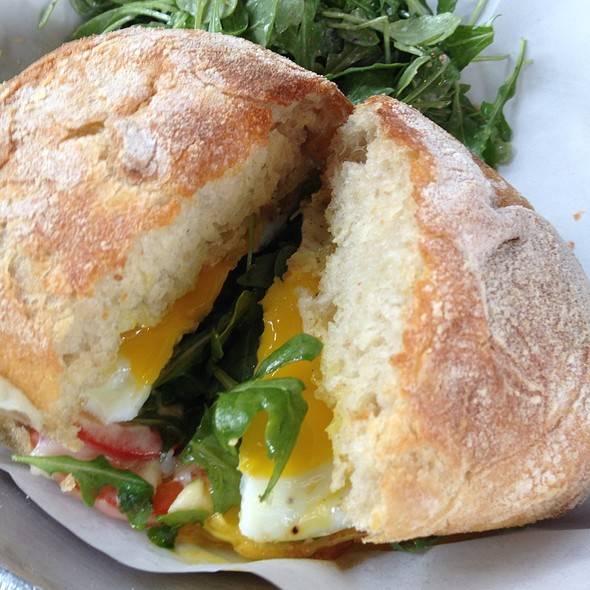 fried egg sandwich @ Sweet Woodruff