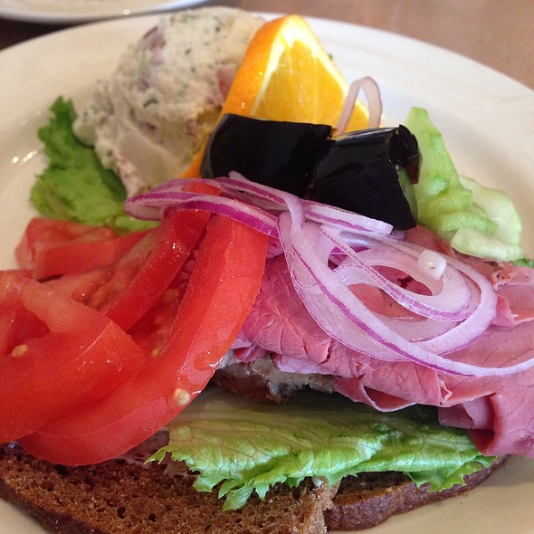 Danish Combo Sandwich @ Copenhagen Bakery & Cafe