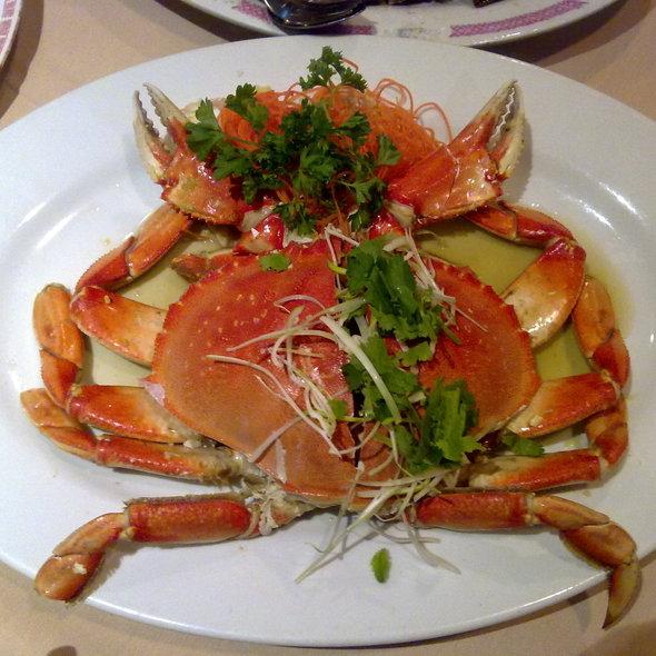 Cold Crab @ Restaurant Fu Kam Wah