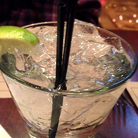 gin and tonic - Flight Restaurant & Wine Bar, Glenview, IL