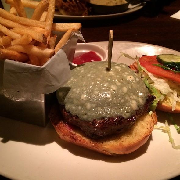 Portabella Mushroom Burger - Redstone American Grill - Plymouth Meeting, Plymouth Meeting, PA