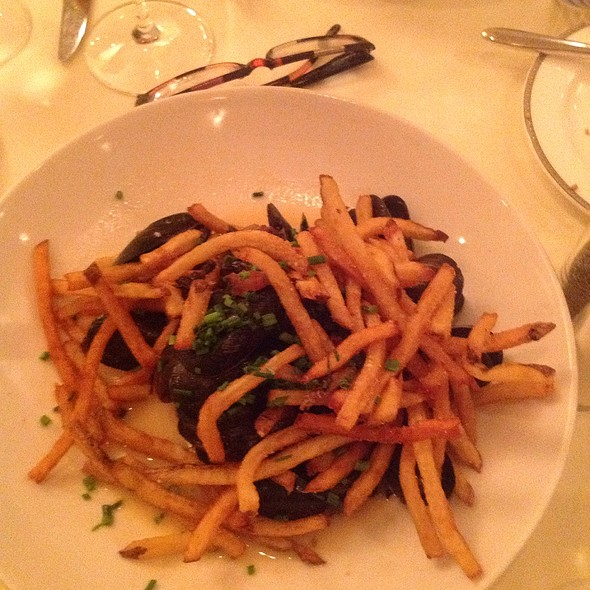 Moules Frites - Corbett's Fine Dining, Louisville, KY