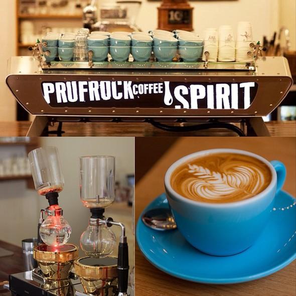 Cappuccino @ Prufrock Coffee