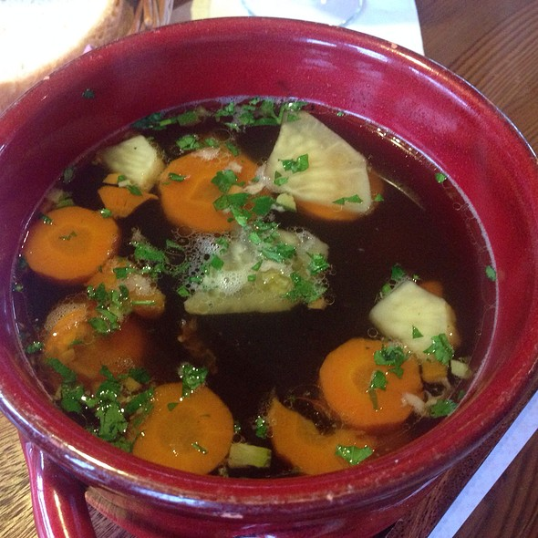 Goose Soup With Vegetables And Liver-Dumplings @ Dunyha étterem
