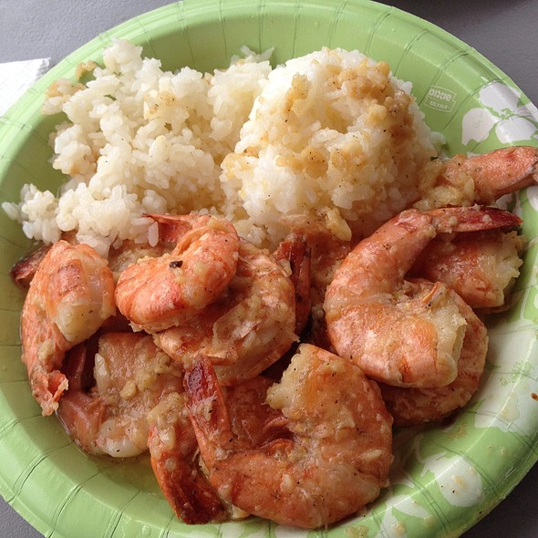 Garlic Shrimp Scampi @ Giovanni's Famous Shrimp