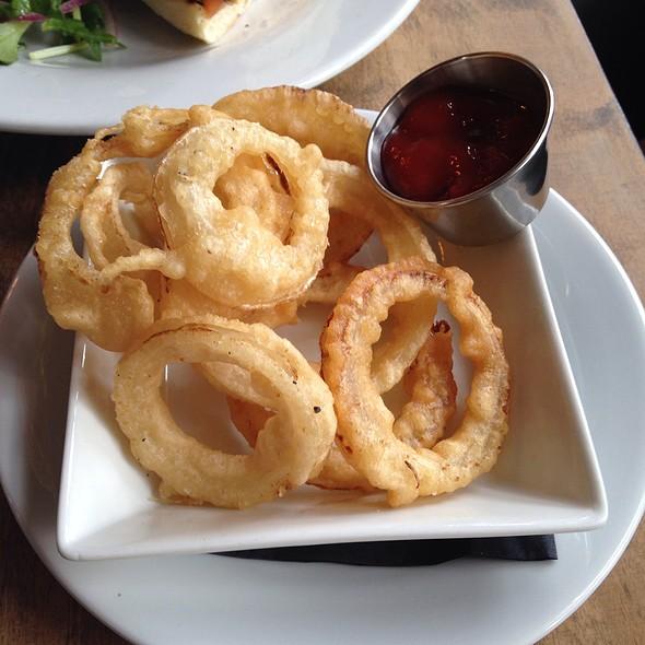 Tempura Onion Rings - AOA Bar & Grill, New York, NY