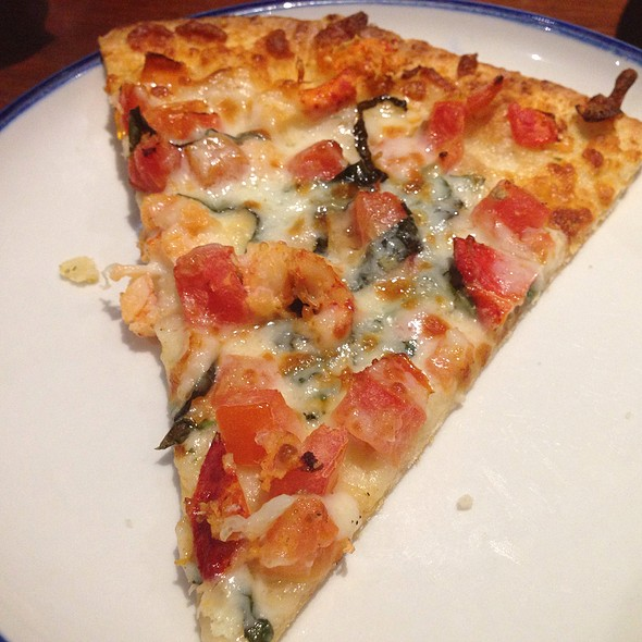 Lobster Pizza @ Red Lobster