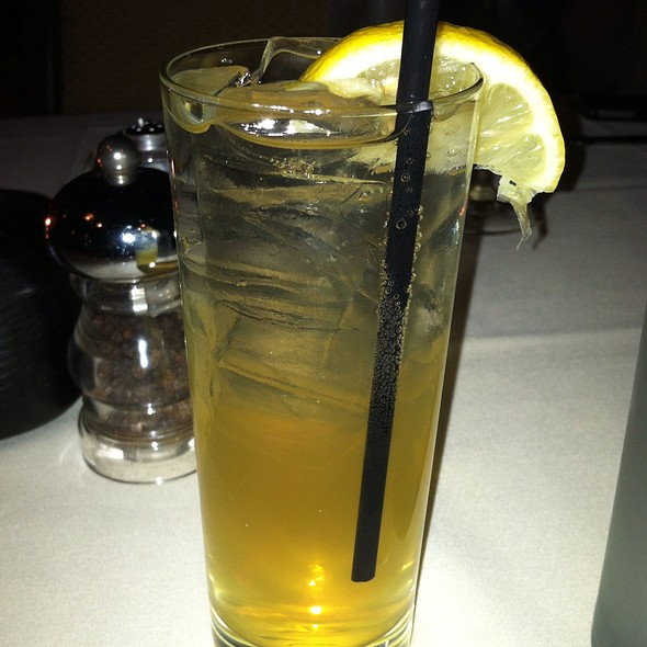 """St. James Lemonade"" Jameson Irish Whiskey, St. Germain, Champagne, Lemonade"